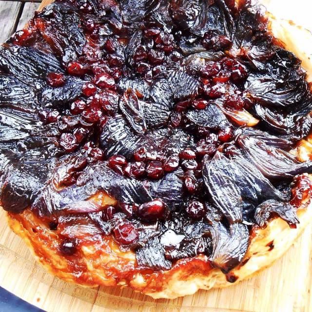 onion tart complete