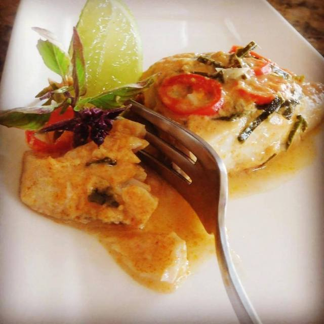 thai cooked fish