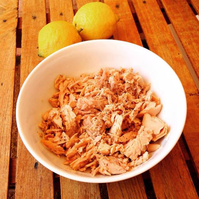 tuna and lemon