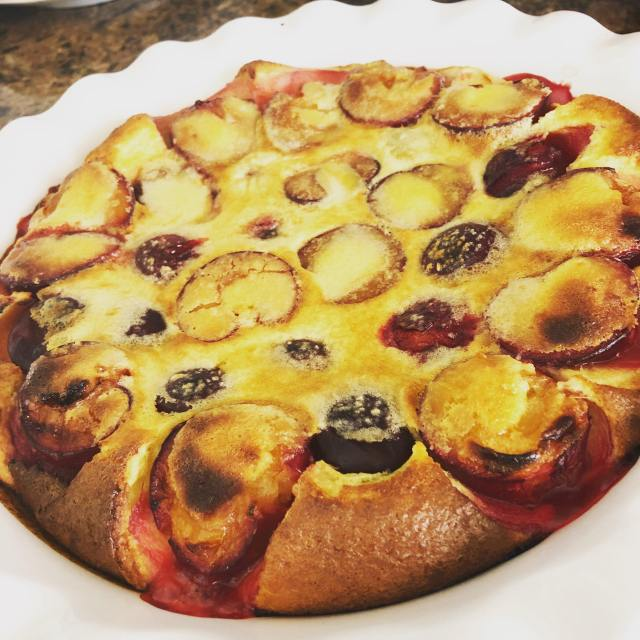 Clafoutis cooked feture 2