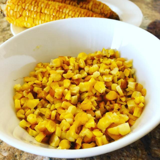 ponzu salad corn kernels 1