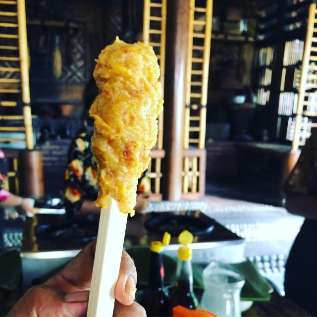 sate done in the stick