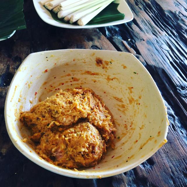 sate meat done