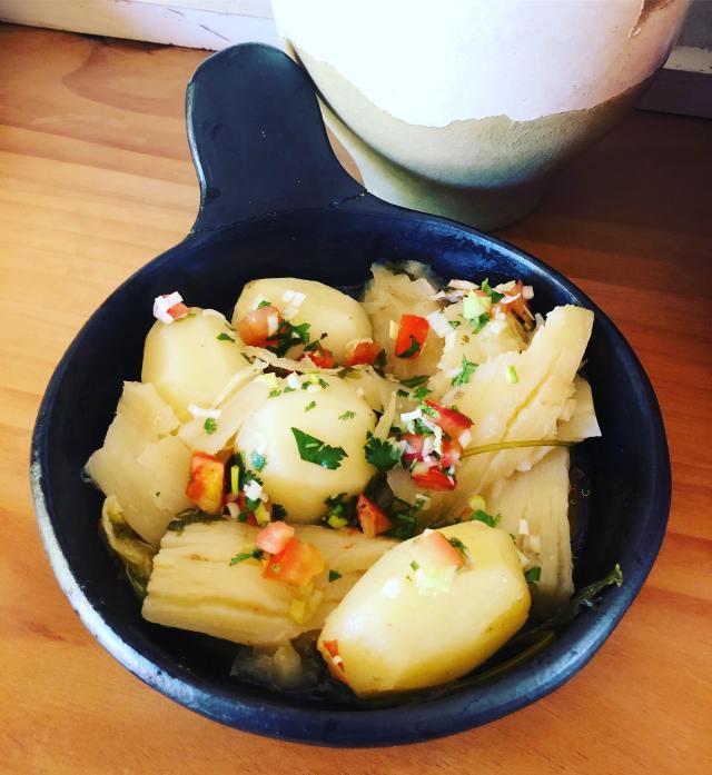 sancocho serve only potatoes